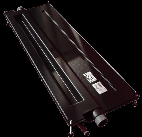 Le premier récupérateur de chaleur extra plat pensé pour se glisser sous la baignoire ou en sous-face de dalle.