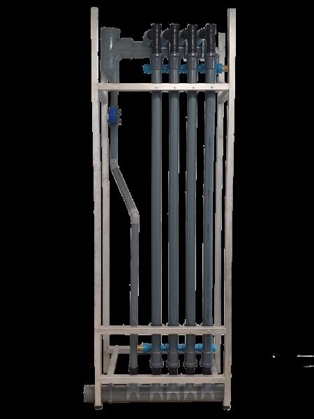 Fabriqué en France, SPX est un récupérateur vertical centralisé sur base de ShowerPipe.